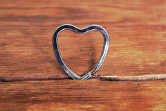 Metallic heart Royalty Free Stock Photography