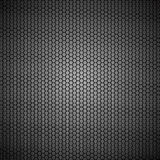 Metallic hexagon grid texture Stock Photography