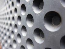 Metallic holes Royalty Free Stock Images