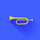 Metallic Horn Royalty Free Stock Photography