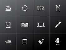 Metallic Icons - More Office Stock Photography