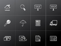 Metallic Icons - Real Estate Stock Photography