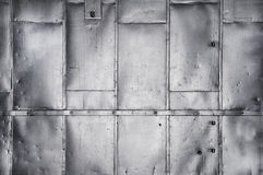 Metallic industrial background texture Royalty Free Stock Photos