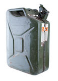 Metallic Jerry Can Stock Photography