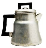 Metallic kettle Royalty Free Stock Image