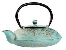Metallic kettle for tea Stock Images