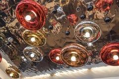 Metallic lamp Royalty Free Stock Photo