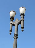 Metallic lamp post Royalty Free Stock Photo
