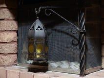 Metallic lantern royalty free stock photos