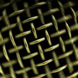 Metallic lattice Royalty Free Stock Image