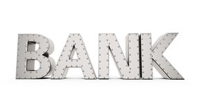 Armored bank Royalty Free Stock Photo