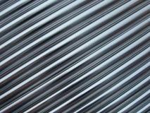 Metallic lines Stock Image
