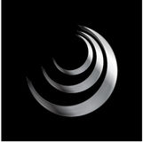 Metallic logo element Stock Photography