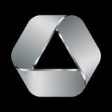 Metallic logo Stock Photo