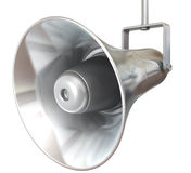 Metallic loudspeaker Stock Photos