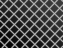 Metallic mesh. Over black background. abstract illustration Stock Photo