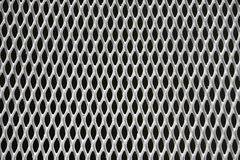 Metallic mesh. Close up of a patterned grid Stock Images