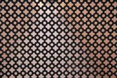 Metallic mesh Royalty Free Stock Images
