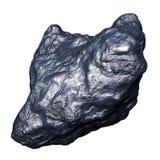 Metallic meteorite asteroid Stock Images