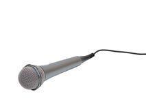 Metallic microphone Royalty Free Stock Photography