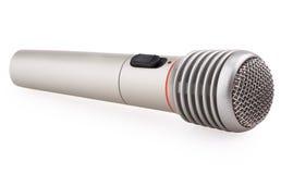 Metallic microphone Royalty Free Stock Photos