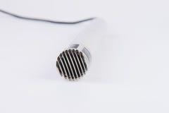 Metallic Microphone Royalty Free Stock Photo