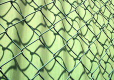 Metallic net Royalty Free Stock Photography