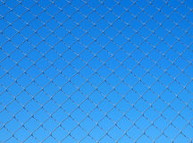 Metallic net Royalty Free Stock Image