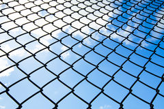 Metallic net Royalty Free Stock Photo