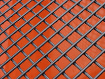 Metallic net Royalty Free Stock Photo