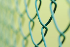 Metallic net Stock Image
