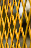 Metallic net pattern Stock Image