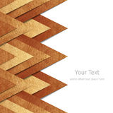 Metallic old gold paper border background Royalty Free Stock Image