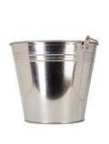 Metallic pail Royalty Free Stock Images