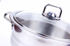 Metallic pan Royalty Free Stock Photography