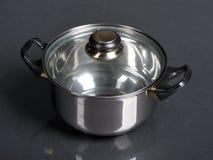 Metallic Pan Stock Photo