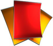 Metallic paper Royalty Free Stock Image