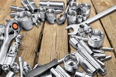 Metallic parts Royalty Free Stock Photo