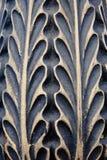 Metallic pattern. Of a streetlight Royalty Free Stock Photography