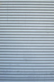 The metallic pattern of industrial gate Royalty Free Stock Photography