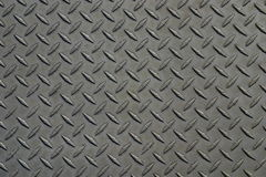 Metallic Patterned Background. Metal textured background with diamond pattern Royalty Free Stock Photography