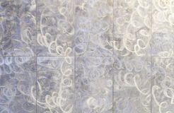 Metallic patterned background Royalty Free Stock Photo