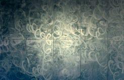 Metallic patterned background Stock Photo