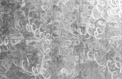 Metallic patterned background Royalty Free Stock Images