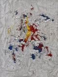Metallic Peeling Stock Image