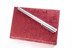 Metallic pen Stock Photography