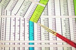 Metallic pen Stock Images