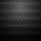 Metallic Perforated Texture. Dark Carbon Pattern Royalty Free Stock Images