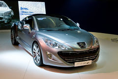 Metallic Peugeot 308 Stock Photography
