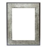 Metallic picture frame Royalty Free Stock Photos